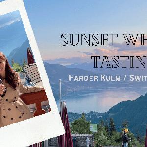 【スイス】ハーダークルムの絶景サンセットウイスキーテイスティングに行ってきた