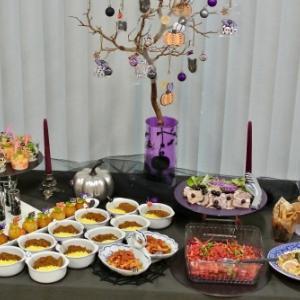 10月のテーブルコーディネート レッスン「ビュッフェスタイルのテーブルコーディネート 」