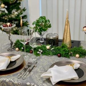 12月のテーブルコーディネート レッスン「クリスマスのディスプレイテーブル」