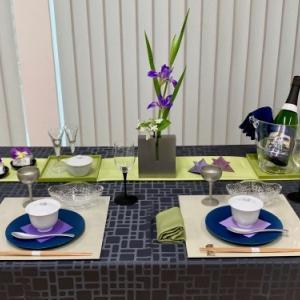 4月のテーブルコーディネート レッスン「端午の節句のテーブルコーディネート 」