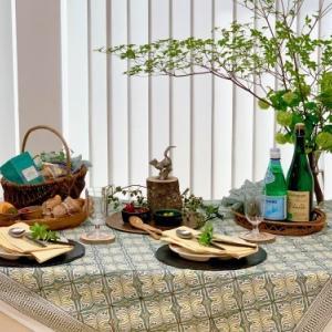 6月のテーブルコーディネートレッスン「ピクニックスタイルのテーブルコーディネート 」