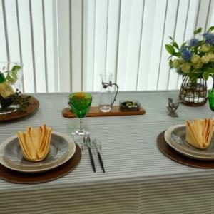 5月のテーブルコーディネートレッスン「ガーデンスタイルのテーブルコーディネート 」