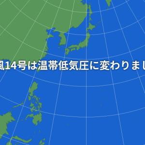 台風14号接近の中発電所へ!!!