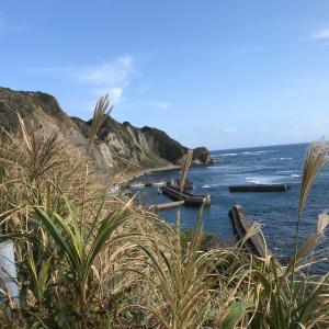 秋の海もいいなぁ〜逆光写真ですが…