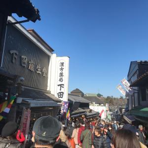 一月中旬過ぎても混んでいた成田山新勝寺