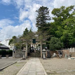 玉前神社とへっぴり腰とミント