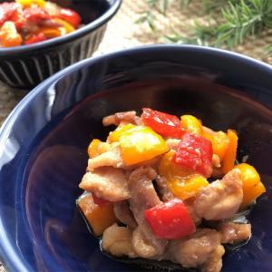 鶏肉とピーマンの味噌炒め【#鶏肉 #ピーマン #味噌 #レシピ #簡単】