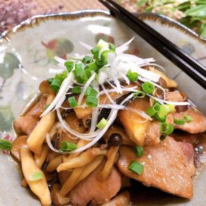 豚肉ときのこの甘辛ダレ【#豚肉 #きのこ #甘辛ダレ #レシピ #簡単】