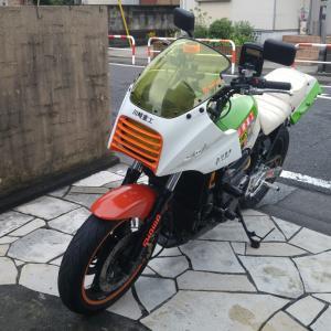 GPZ900R:チョイ乗り断念だよ(涙目)