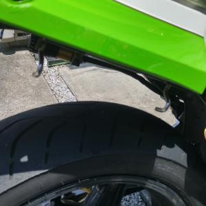 GPZ900R:荷掛フックカスタムリベンジでリア周りがスッキリ‼