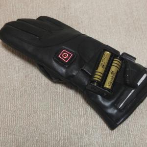 電熱グローブの予備バッテリーの充電器