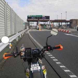 セロー225WE:セロー再生⑰ エンジン乗せ替え後の、高速道走行テスト動画