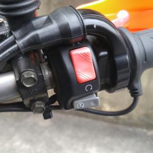 セロー225WE:セルスイッチ修理