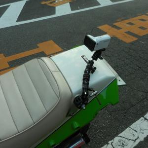 GPZ900R:自作ウェアラブルカメラマウントで、ライディングフォームテスト動画