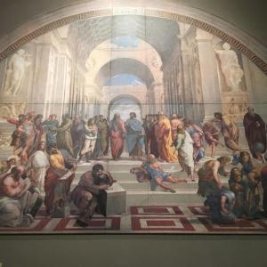 アテナイの学堂/ラファエッロ