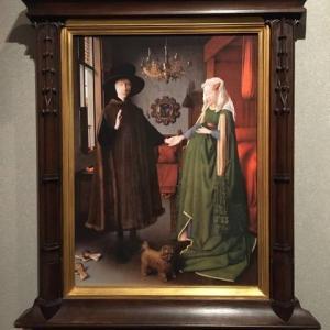 アルノルフィーニ夫妻の肖像/ヤン・ファン・エイク