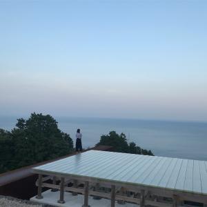 江ヶ浦測候所に行ってきました。 嵐5×20ツアーパンフレットのロケ地でもある海と太陽が交差する場所。