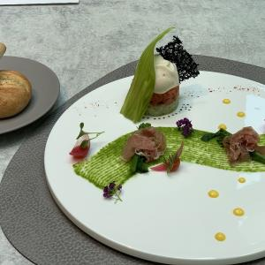 ACホテル銀座 レストランは洗練された開放的な空間で目にも美味しい料理で大満足
