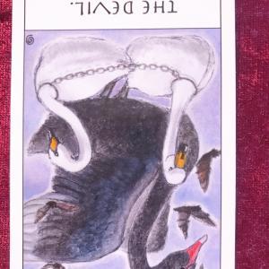「欲」や「執着」を終わらせる:6月23日のタロットと言霊メッセージ