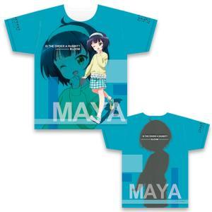 ご注文はうさぎですか?BLOOM フルグラフィックTシャツ マヤ&青山ブルーマウンテン