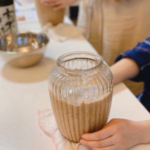 魚座の新月仕込みの発酵食。味噌、ぬか床、酵素ジュース、納豆。