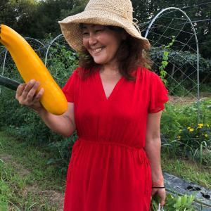 時給農園めぐみのへ。湯本さんのお野菜スゴイ!!