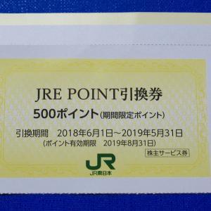 JREポイント引換券を使う