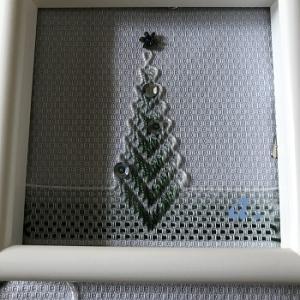 スウェーデン刺しゅうのクリスマスツリー【13】試作始めました