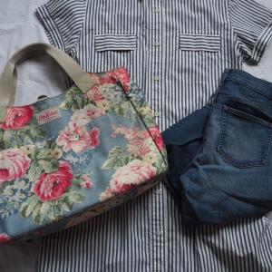 ロンストの服とキャスキッドソンの鞄