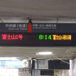 E257系中央線定期運用のお別れ乗車に乗ってきました
