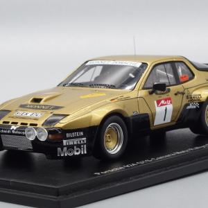 SPARK MODEL PORSCHE 924 GTS CARRERA METZ RALLYE