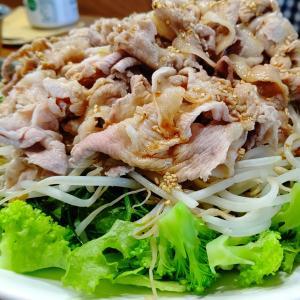 野菜たっぷり「豚シャブサラダ」