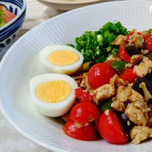 カラフル混ぜ麺