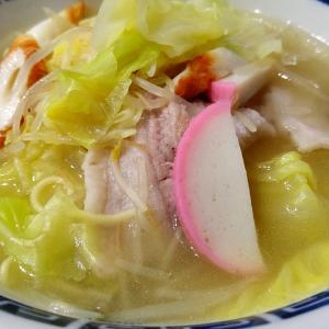 四井製麺の「中華そば」と叔母に教わったキャベツたっぷり「和風チャンポン」
