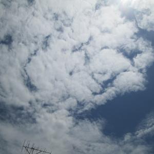 流れる雲のように。