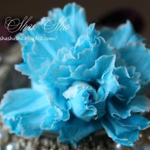 青いカーネンションⅡ