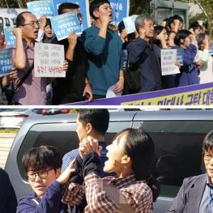 【韓国】米大使公邸に侵入し、反米デモを行い拘束された大学生を解放しろ。彼らには「中間テスト」があるのだ
