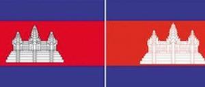 【韓国】政府の誤りで出鱈目なカンボジア国旗を掲揚、カンボジアからの抗議も無視して修正せず