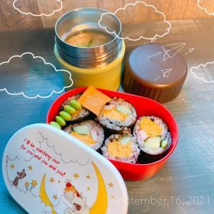 JKサラダ巻き弁当⸜(* ॑  ॑* )⸝