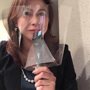 ブログ再始動!!【奮闘!】マスクをしながらの司会
