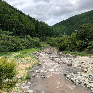 夏休み初日は、川!