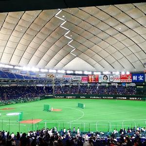 東京ドームの屋根の下鬨の声は流れる