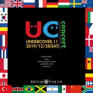 12/28(sat)  RECNAD 冬の定期発表会 UNDERCOVER.11 concert