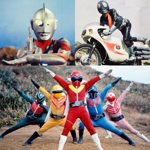 日本三大ヒーローの色彩アーカイブ