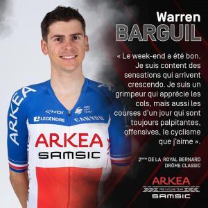 フランスチャンピオンのワレン・バルギルがパリ~ニースで失格した理由
