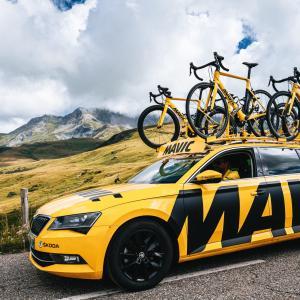 MAVICがツール・ド・フランスの舞台から姿を消す