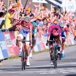 アムステルゴールドレースは17kmのクローズドサーキットコースで開催