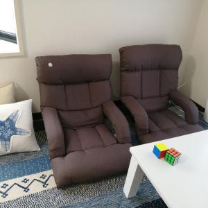 座椅子で「座る」ことが自由に(^◇^)