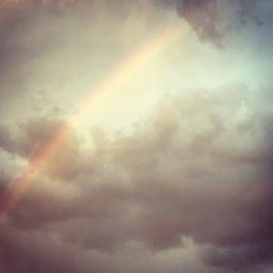 虹のOkサインを感じる時