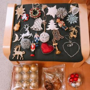 クリスマス準備とイヤリング
